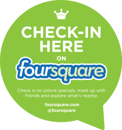 foursquare checck in