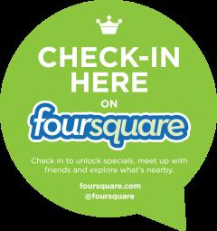 foursquare checck in