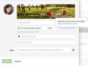 eventos Google +