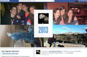 Facebook resumen 2013